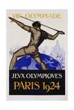 Jeux Olympiques, Paris 1924 Poster Reproduction procédé giclée par  Orsi