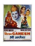 Shree Ganesh Movie Poster Giclee Print