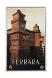 Ferrara Poster Giclee Print by Mario Borgoni