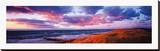 Sunset Beach Stretched Canvas Print by Bent Rej