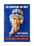 I'M Counting on You! Poster Giclee Print by Leon Helguera