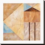 Palermo V Stretched Canvas Print by Ellen Hudson