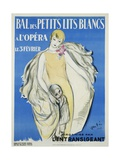 Bal Des Petits Lits Blancs Dance Ball Poster Giclee Print by Maurice Vertes