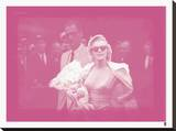 Marilyn Monroe IX In Colour Stretched Canvas Print by  British Pathe
