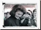 Jackie Kennedy IV Stretched Canvas Print