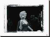 Marilyn Monroe VII Stretched Canvas Print by  British Pathe