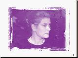Grace Kelly XIII In Colour Stretched Canvas Print by  British Pathe