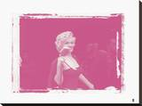 Marilyn Monroe VII In Colour Stretched Canvas Print