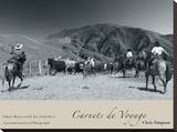 Omar Rojas With His Gaucho's Stretched Canvas Print by Chris Simpson