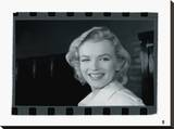 Marilyn Monroe VI Stretched Canvas Print by  British Pathe