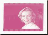 Marilyn Monroe VI In Colour Stretched Canvas Print by  British Pathe
