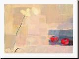 Orchid With Tomatoes Reproduction transférée sur toile par Ele Pack