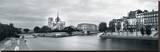 Paris Panorama Stretched Canvas Print by Joseph Eta