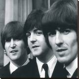 The Beatles IX Stretched Canvas Print