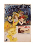 La Bodiniere Poster Giclee Print by Jules Chéret