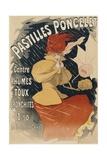 Pastilles Poncelet Poster Giclee Print by Jules Chéret
