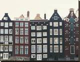 Aerial Amsterdam I Stretched Canvas Print by Irene Suchocki
