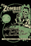 Zombie Lounge by Retro-A-Go-Go Poster Posters