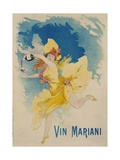 Vin Mariani Poster Giclee Print by Jules Chéret