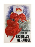 Pastilles Geraudel Poster Giclee Print by Jules Chéret