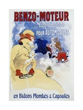 Benzo-Moteur Poster Giclee Print by Jules Chéret