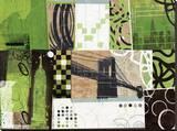 Urban Abstract Leinwand von Philip Brown