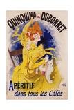 Quinquina Dubonnet Poster Giclee Print by Jules Chéret