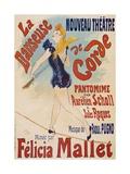La Danseuse De Corde Giclee Print by Jules Chéret