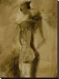 Aphrodite's Dance VI Stretched Canvas Print by  Lorello
