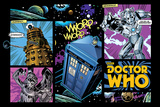 Doctor Who -Comic Layout Posters