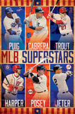 MLB Superstars Poster