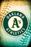 Oakland Athletics Logo Prints