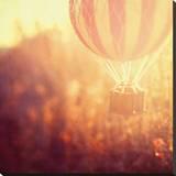 Balloon Haze Stretched Canvas Print by Irene Suchocki