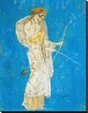 Pompeii Fresco I Stretched Canvas Print