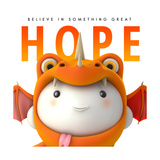Hope Do Good Premium Giclee Print