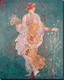 Pompeii Fresco II Leinwand von  The Vintage Collection