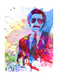 Anchorman Watercolor Prints by Anna Malkin