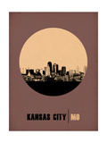 Kansas City Circle Poster 2 Posters by  NaxArt