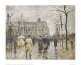 The Vesterbrogade in Copenhagen Giclee Print by Paul Fischer