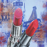 Lips in Paris Prints
