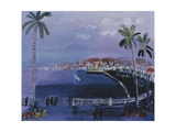 Baie Des Anges, Nice, C.1926 Giclee Print by Raoul Dufy