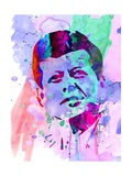 Kennedy Watercolor 2 Posters by Anna Malkin
