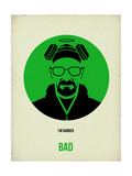 Bad Poster 1 Print by Anna Malkin