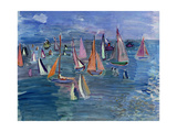 Regatta Giclee Print by Raoul Dufy