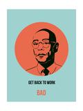 Bad Poster 3 Giclee-tryk i høj kvalitet af Anna Malkin