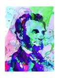 Lincoln Watercolor Posters par Anna Malkin