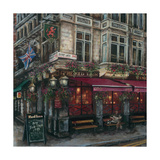 The Red Lion, Westminster Gicleetryck av Melissa Sturgeon