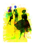 Fashion Models 2 Posters by Irina March