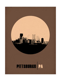 Pittsburgh Circle Poster 2 Prints by  NaxArt