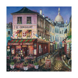 Le Consulat, Paris Giclee Print by Melissa Sturgeon